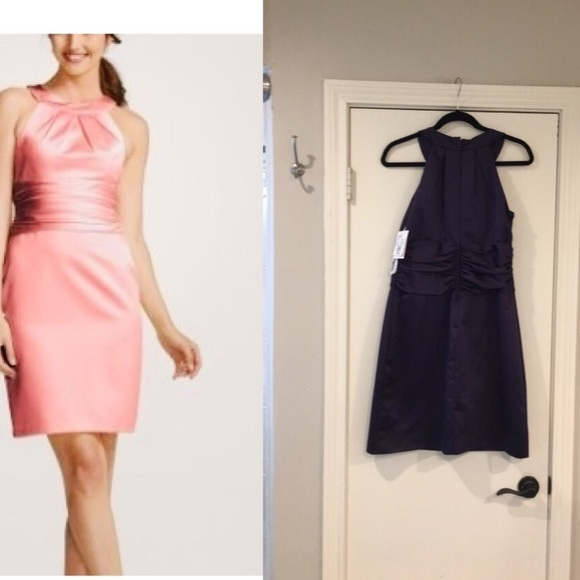 David's Bridal Dresses & Skirts - NWT David's Bridal Bridesmaid Dress, Purple, 10